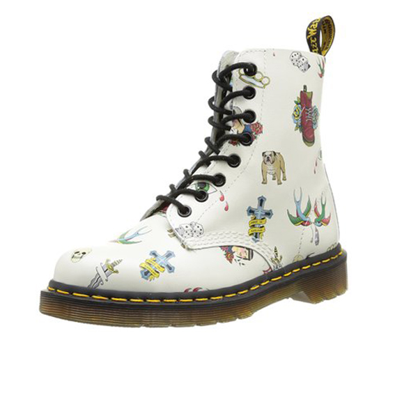 Dr. Martens Pascal Off White Tattoo