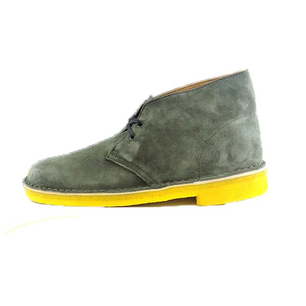 desert boot khaki nubuck